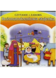 Bożonarodzeniowa stajenka - okładka książki