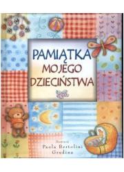 Pamiątka mojego dzieciństwa - okładka książki