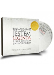 Jestem legendą 1 (książka + 2 CD) - pudełko audiobooku