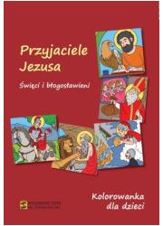 Przyjaciele Jezusa. Kolorowanka - okładka książki