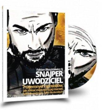 Snajper uwodziciel (książka + CD) - okładka książki