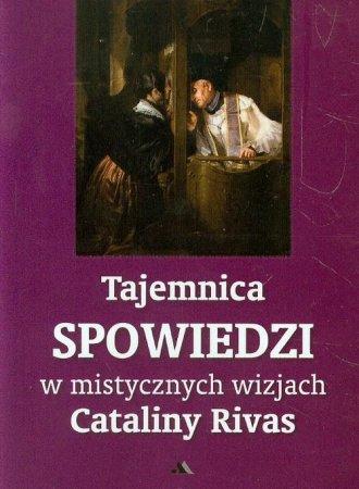 Tajemnica spowiedzi w mistycznych - okładka książki