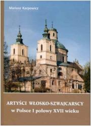 Artyści włosko-szwajcarscy w Polsce - okładka książki