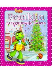 Franklin przygotowuje święta - okładka książki