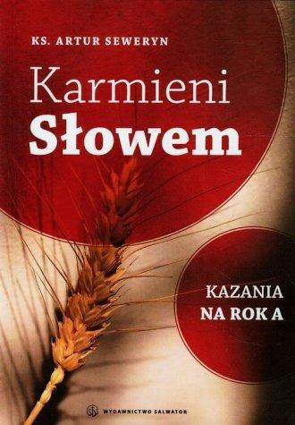 Karmieni Słowem. Kazania na rok - okładka książki