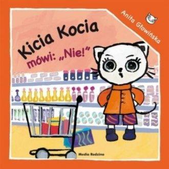 Kicia Kocia mówi Nie! - okładka książki