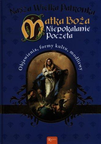 Nasza wielka Patronka Matka Boża - okładka książki