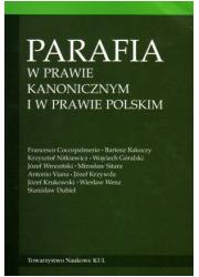 Parafia w prawie kanonicznym i - okładka książki