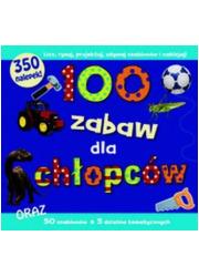 100 zabaw dla chłopców - okładka książki