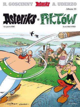 Asteriks u Piktów. Album 35 - okładka książki