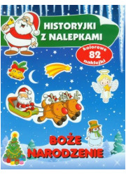 Boże Narodzenie. Historyjki z nalepkami - okładka książki