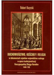 Duchowieństwo, kościoły i religia - okładka książki