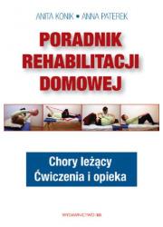 Poradnik rehabilitacji domowej. - okładka książki