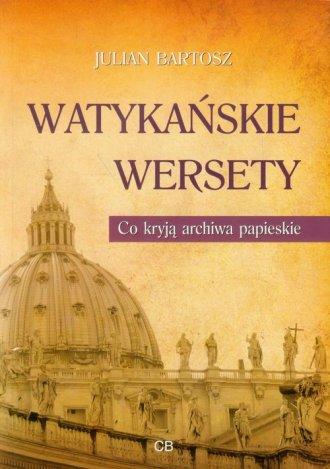 Watykańskie wersety. Co kryją archiwa - okładka książki
