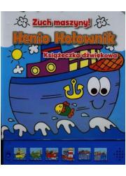 Henio Holownik. Zuch maszyny! - okładka książki