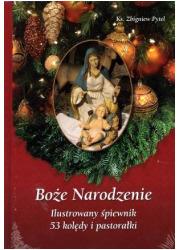 Boże Narodzenie. Ilustrowany śpiewnik - okładka książki