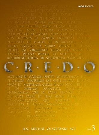 Credo. Tom 3 (książka + CD) - okładka książki