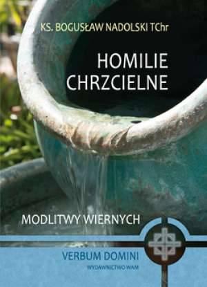 Homilie chrzcielne - okładka książki