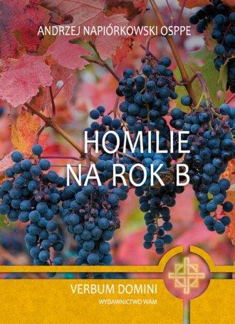 Homilie na Rok B - okładka książki