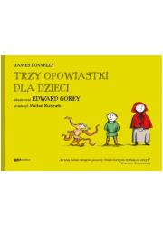 Trzy opowiastki dla dzieci - okładka książki