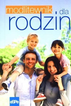 Modlitewnik dla rodzin - okładka książki