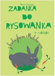 Zadanka do rysowanka z króliczkiem - okładka książki