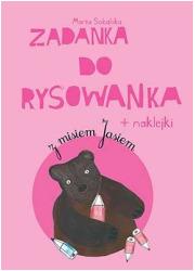 Zadanka do rysowanka z misiem Jasiem - okładka książki