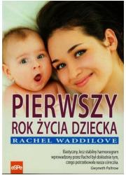 Pierwszy rok życia dziecka - okładka książki