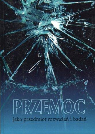 Przemoc jako przedmiot rozważań - okładka książki