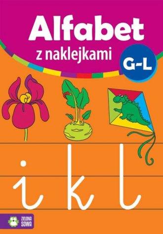 Alfabet z naklejkami G - L - okładka książki