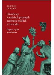 Innowiercy w opiniach prawnych - okładka książki