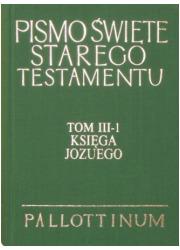 Księga Jozuego. Komentarz - okładka książki