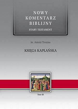 Księga Kapłańska. Seria: Nowy komentarz - okładka książki