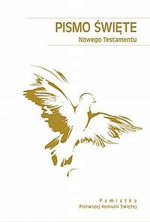Pismo Święte Nowego Testamentu. - okładka książki
