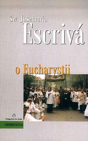 O Eucharystii - okładka książki