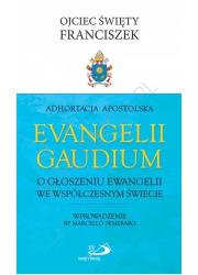 Adhortacja Evangelii Gaudium. O - okładka książki