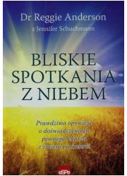 Bliskie spotkania z niebem - okładka książki