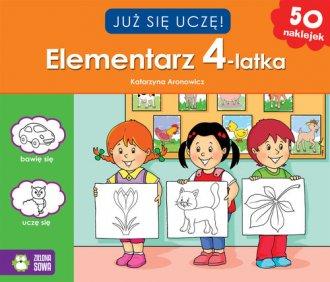 Już się uczę. Elementarz 4-latka - okładka książki