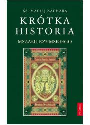 Krótka historia Mszału Rzymskiego - okładka książki