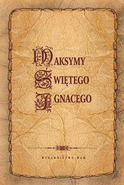 Maksymy Świętego Ignacego - okładka książki