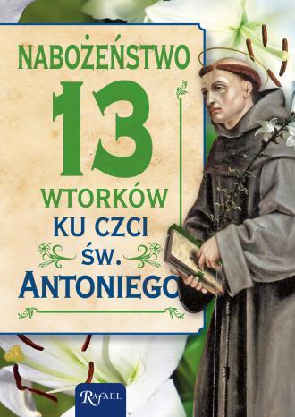 Nabożeństwo 13 wtorków ku czci - okładka książki