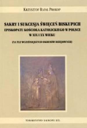 Sakry i sukcesja święceń biskupich - okładka książki