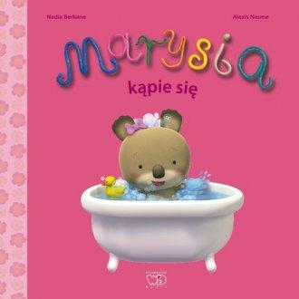 Marysia kąpie się - okładka książki