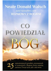 Co powiedział Bóg. 25 najważniejszych, - okładka książki