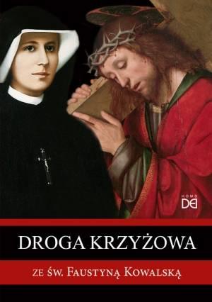 Droga krzyżowa ze św. Faustyną - okładka książki