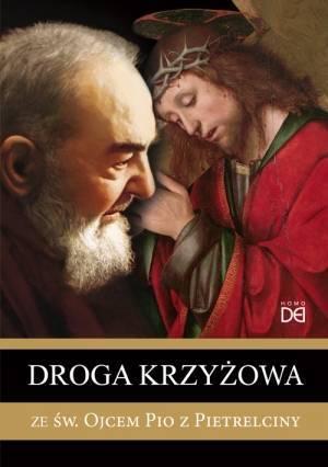 Droga krzyżowa ze św. Ojcem Pio - okładka książki