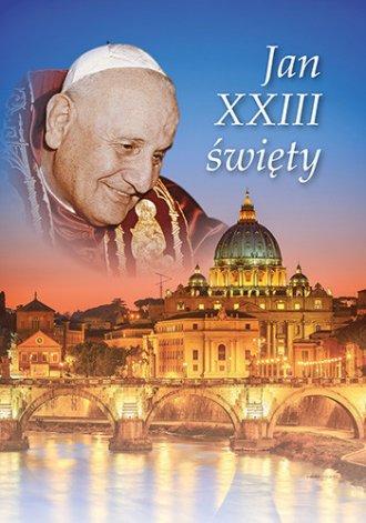 Jan XXIII święty - okładka książki