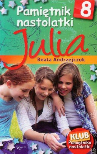 Pamiętnik nastolatki 8. Julia - okładka książki