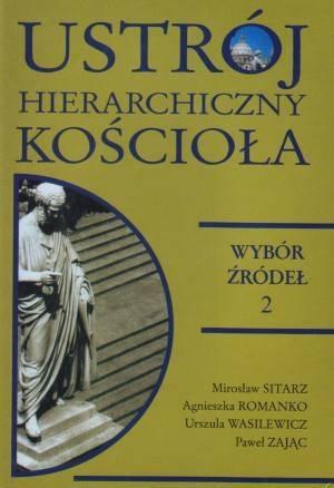 Ustrój hierarchiczny Kościoła. - okładka książki