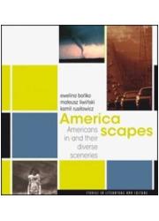 America scapes. Americans in/and - okładka książki